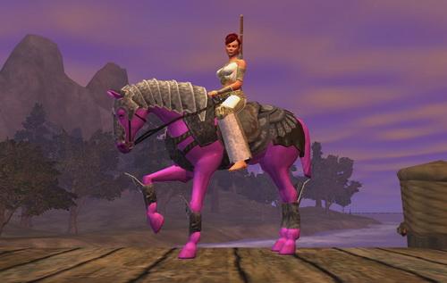 """EverQuest 2 - Bristlebanestag Reittier """"Pferd anderer Farbe"""""""