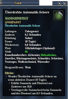 EverQuest 2 - Überdrehte Automatik-Schere