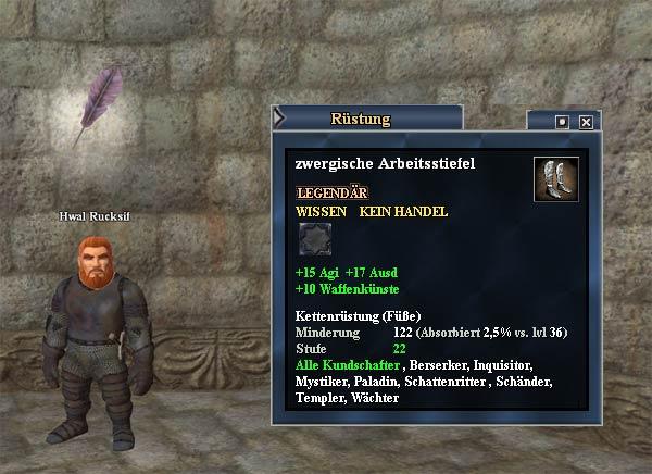 EverQuest 2 Erbequest - Diese Stiefel wurden gemacht für...