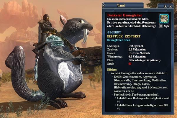 """EverQuest 2 - Rabatt für das Reittier """"Dunkler Baumgleiter"""""""
