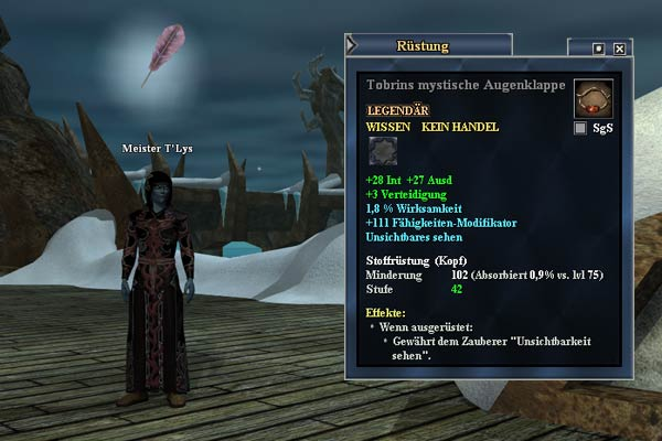 EverQuest 2 - Meister T'Lys in Immerfrost
