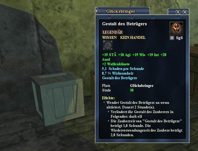 EverQuest 2 - In dieser Kiste sind die Notizen zur verschwundenen Maske