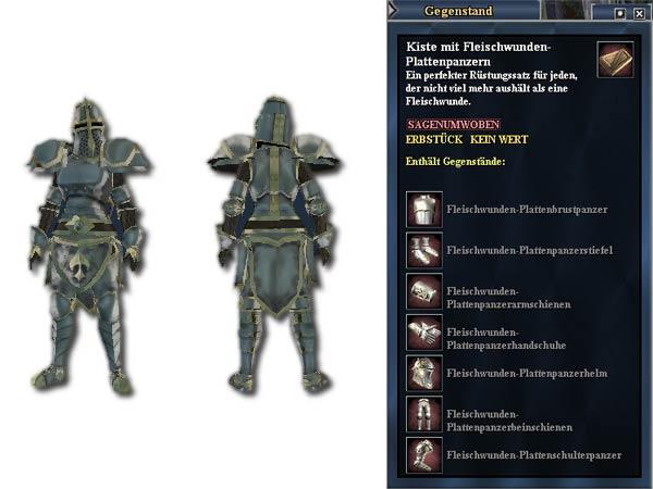 EverQuest 2 - Die Kiste mit Fleischwunden-Plattenpanzern gibt es heute zum halben Preis