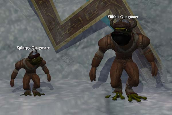 EverQuest 2 - Flibbit und Splorpy am Eisriff