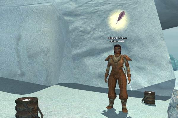 EverQuest 2 - Die Klingenmaid Hillfred Kinloch bitte um Hilfe