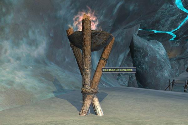 EverQuest 2 -Werft das grüne Eis in die Flammen