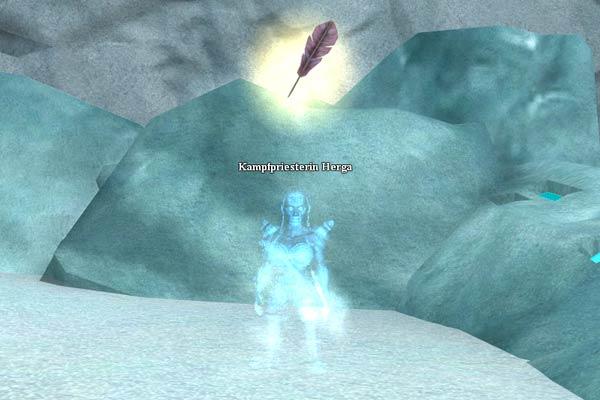 EverQuest 2 - Kampfpriesterin Herga - eine geisterhafte Gestalt