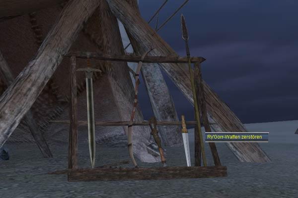 EverQuest 2 - Zerstöre die Waffenständer auf der Insel