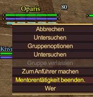 EverQuest 2 - Mentoring deaktivieren