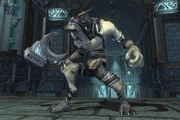 EverQuest 2 - Templer Werwolf Söldner aus der Sammler-Edition