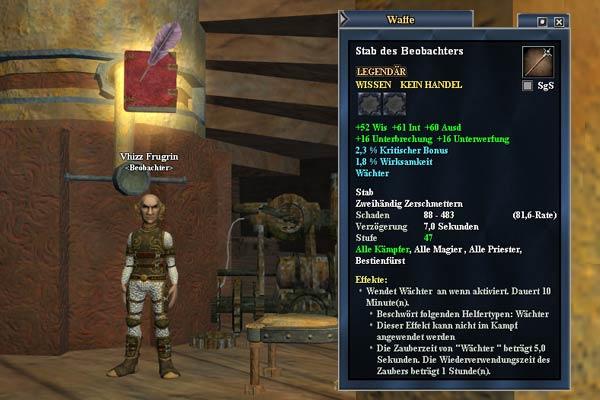 "EverQuest 2 - Erbequest  ""Stab der Beobachter"""