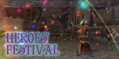 "EverQuest 2 - Weltereignis ""Heldenfestival"""