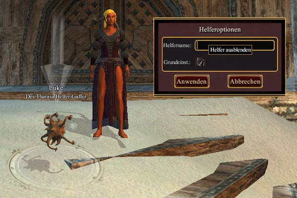 EverQuest 2 - Helferoptionen