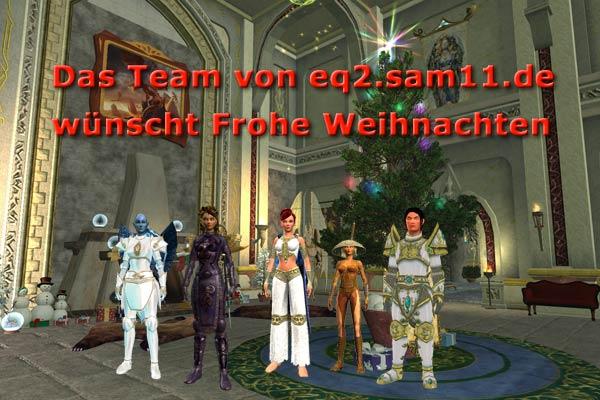 eq2.sam11.de wünscht Frohe Weihnachten