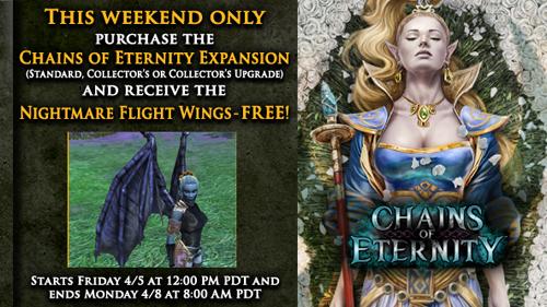 EverQuest 2 Aktion: kostenloses Flugmount beim Kauf von Chains of Eternity