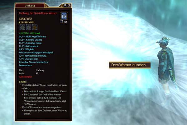 EverQuest 2 - Wasserfall Questgeber für die Erbequest Wasser von Norrath