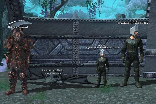 EverQuest 2 - Betatest Tears of Veeshan - Händler mit Rüstung und Verzierungen
