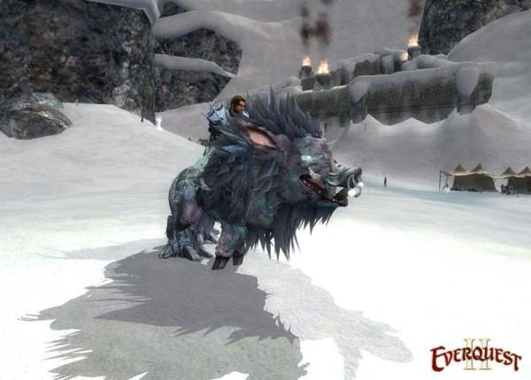 """EverQuest 2 - Boden-Reittier \""""Veliumgesatteltes Kriegsschwein\"""""""