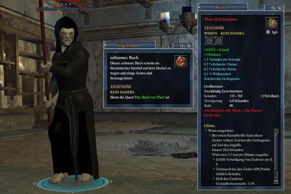 EverQuest 2 - gefallender Gelehrter Edgars