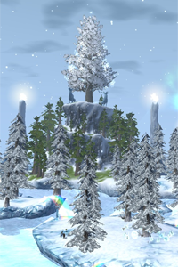 EverQuest 2 - Frostfall-Wunderland-Dorf